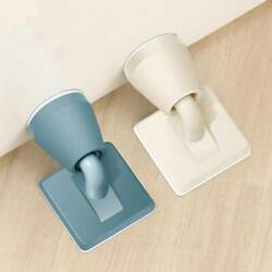Silicone Magnetic Door Stop Stopper Holder Catch for Kitchen Home Office $3.33