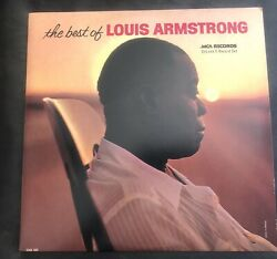 The Best Of LOUIS ARMSTRONG 2 LP set MCA Records – MCA2-4035  - 1980