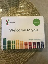23andMe DNA Test: Ancestry + Traits Personal Genetic Service DNA Relative Finder $58.99
