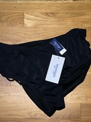 Swimsuits For All Size 12 Black Swimsuit Bottom NWT $15.00