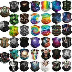 Cooling Face Bandana Scarf Mask Neck Gaiter Biker Tube Beanie Cover Cap Headwrap $8.45