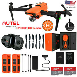 US Autel Robotics EVO II 8K HD Video Camera Drone Quadcopter&Propellers Foldable $1,699.00