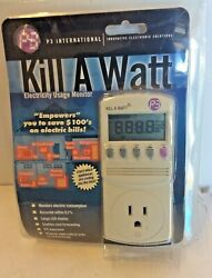 P3 International P4400 Kill A Watt Electricity Usage Monitor $34.00