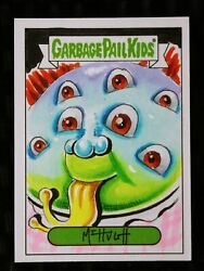 2019 Topps Garbage Pail Kids Full Color Sketch #11 GPK  Bonus - Gold Border $74.99