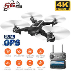 Drone Foldable Quadcopter GPS WIFI FPV 1080P Wide-Angle HD Camera Christmas Gift $89.99