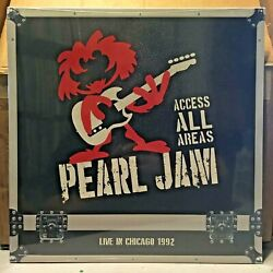 Pearl Jam 'Access All Areas' Live in Chicago 1992 LP  New  Sealed