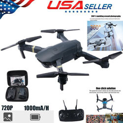 FPV Wifi Drone Quadcopter With HD Camera Aircraft Foldable Selfie Toy Adjustable $35.97