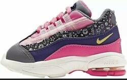 New Nike Little Max '95 Pink Purple Girl Toddler Shoes CI9938 500 $32.99
