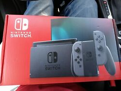 NEW Nintendo Switch with Gray Joy‑Con Handheld Gaming Console $402.00