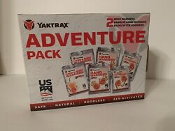 YAKTRAX Adventure Pack Warmers 6 Packs Total Body Hand Toe C4 $12.99