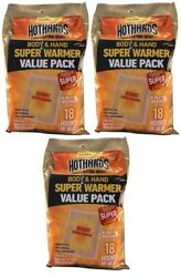 4 Hothands Super  Warmers Value 10 Pack = 40 Total Pair EXP 092023 Safe Heat  $32.88
