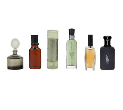 DESIGNER MEN#x27;S COLOGNE COLLECTION 6 PIECES MINIATURE GIFT SET FOR MEN