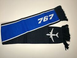 BOEING 767 COMMERCIAL AIRPLANES SCARF JUMBO JET AIRCRAFT