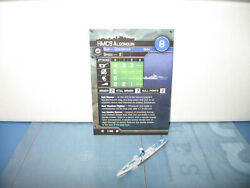 Axis & Allies War at Sea Surface Action HMCS Algonquin 1/40 $3.00