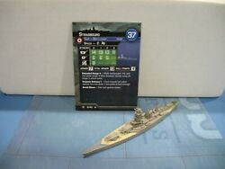 Axis & Allies War at Sea Surface Action Strasbourg 3/40 $25.00
