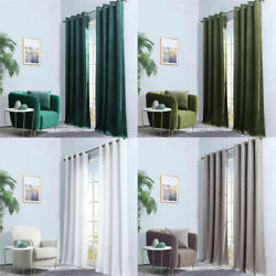 1 Panel Curtain Living Room Blackout Window Curtain Bedroom With Grommet $16.99