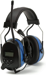 Digital Radio Ear Muffs Noise Reduction Bluetooth AM FM Radio Headphones $104.95