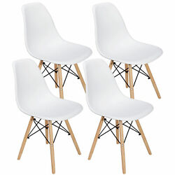 4pcs Dining Chair Mid Century Modern for Kitchen Dining Bedroom Living Room $75.97