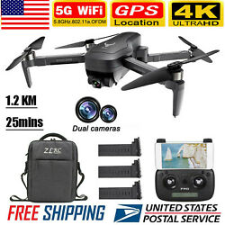 SG906 PRO GPS RC Drone W Camera 4K 5G Wifi 2Axis Quadcopter MV Gesture Photo USA $189.99