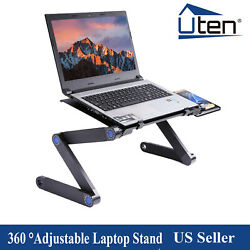 Fold-able Aluminium Laptop Desk Table - 360°Adjustable Bed Tray $19.99