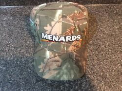 Camo Menards Home Improvement Store Embroidered baseball hat cap adjustable $14.99