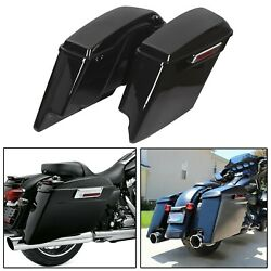 5quot; Stretched Extended Hard Saddle Bags For Harley Touring Road King 1993 2013 $241.50