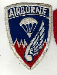 Korean War  Japanese made 187th Airborne RCT patch Choice example $26.00
