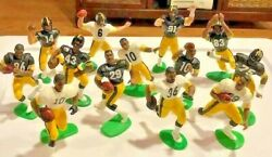 6 TIME SB CHAMPIONS PITTSBURGH STEELERS 1988 2000 Starting Lineup Figures OPEN $9.99