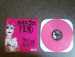 Alien Sex Fiend Bat Cave Anthems Pink Record Limited Edition 119300 $49.99