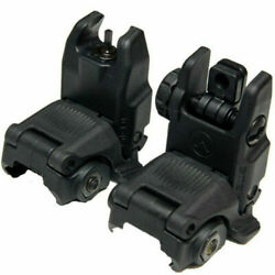 Magpul Gen2 MAG247&MAG248 Front and Rear Flip Sights - Black $39.00