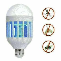 15W Flying Bug Mosquito Zapper LED Lights Indoor Insect Killer Bulb Lamp Indoor $5.50