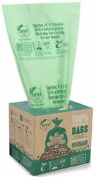 100 Count Compost Bags Small Home Kitchen Trash Bag Biodegradable Waste Storage $17.99