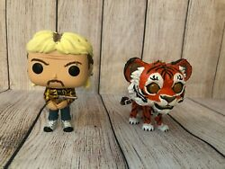 TIGER KING JOE EXOTIC CUSTOM ONE OF A KIND SPECIAL EDITION FUNKO POP WITH TIGER $65.00