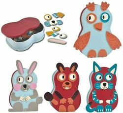Magnetic Jigsaw Puzzle Animals Set for Toddles Educational and Creative Toys for $23.99