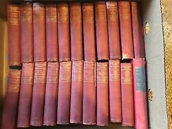 MARK TWAIN'S WORKS Author's Natl Edition 21 Volumes Dated 1899-1909 + Huck Finn