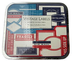 Vintage Labels Assorted Decorative 24 sheets Self Adhesive Italy 2003 $13.30
