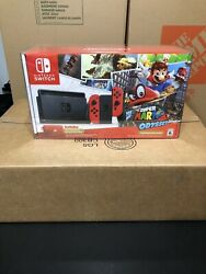 Nintendo Switch Super Mario Odyssey Console Bundle New Unused With Box Protector $525.00