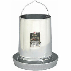 Little Giant 30 Pound Hanging Poultry Feeder Galvanized Steel 14quot; Pan 914043 $54.68