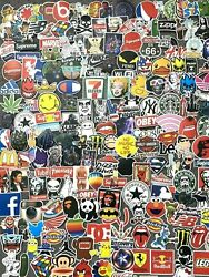 200 Skateboard Stickers Vinyl Laptop Luggage Decal Dope Sticker Lot Longboard $9.95