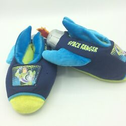Toy Story Slippers Boys 9 10 House Shoes Space Ranger Rocket Flames $15.00