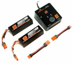 Smart Powerstage Bundle 6S: 2 X 11.1v Lipo RC Car Batteries IC5 With RC Charger $289.99
