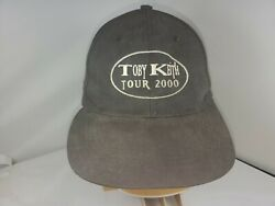 Toby Keith Tour 2000 Crew Baseball Cap Adjustable Country Music ATT Headwear $19.99