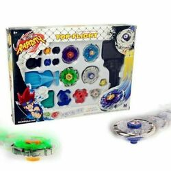 4D Beyblade Set Fusion Top Metal Rapidity Masters Launcher Grip Kids Toys Gift $16.99