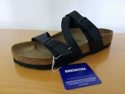 Birkenstock Salina Birko Flor Black Women#x27;s Sandal NEW Choose Size