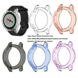 42mm Smart Watch Silica Gel Clear Anti fall Protective Case fits for Garmin $9.38