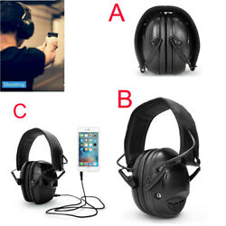 Electronic Ear muffs Noise Cancelling Shooting Bluetooth EarMuff Soft Headset US $34.77