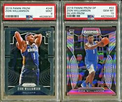 Absolute Mystery Pack Patch Auto Basketball Cards Zion Williamson Rookie PSA 10 $29.99