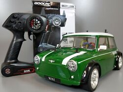 Use Tamiya 1 10 RC Rover Mini Cooper Racing FF M 03 Chassis GoolRc 2.4GHz ESC $315.00