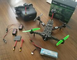 Bind N Fly ADm Actiondrone FPV Folding Drone w Fatshark FPV and VR 007 goggles $200.00