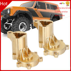 2X Rear Exterior Portal Housing Brass Cover RC for Redcat Gen8 Scout II 1 10 $29.46